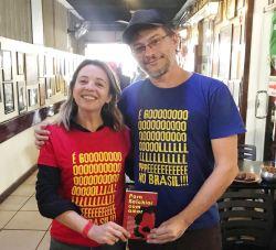Camiseta Golpe no Brasil COMP Albanisa 01