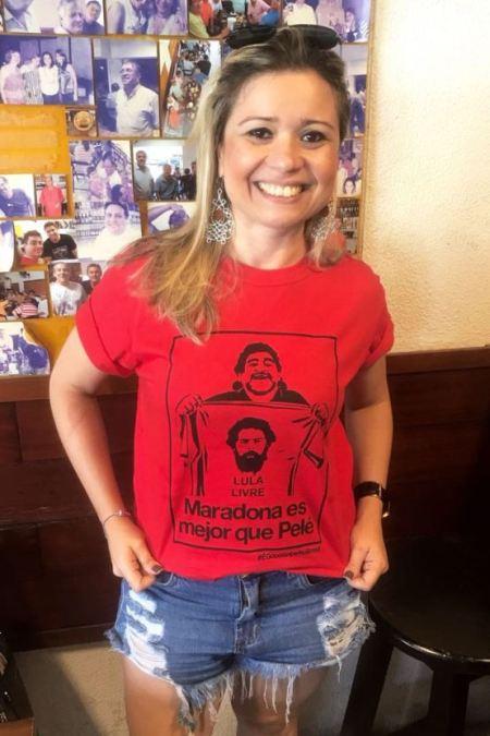 Camiseta Golpe no Brasil COMP Aline S Maradona 04