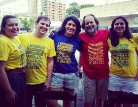 Camiseta Golpe no Brasil COMP Alyne B, Henrique B
