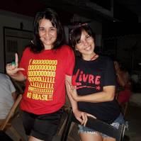 Camiseta Golpe no Brasil COMP Carol Be e Andreia 01