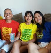 Camiseta Golpe no Brasil COMP Paulinho, Carol, Priscila 01