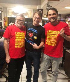 Camiseta Golpe no Brasil COMP RK, Lira N, Alberto P 201805