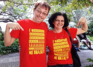 Camiseta Golpe no Brasil COMP RK Suzete Nunes 01