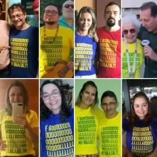 Camiseta Golpe no Brasil COMP Turma 8
