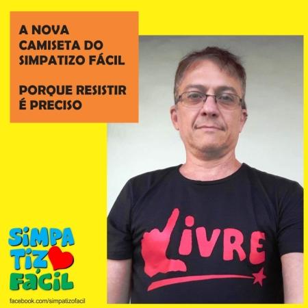 Camiseta Livre Div 01