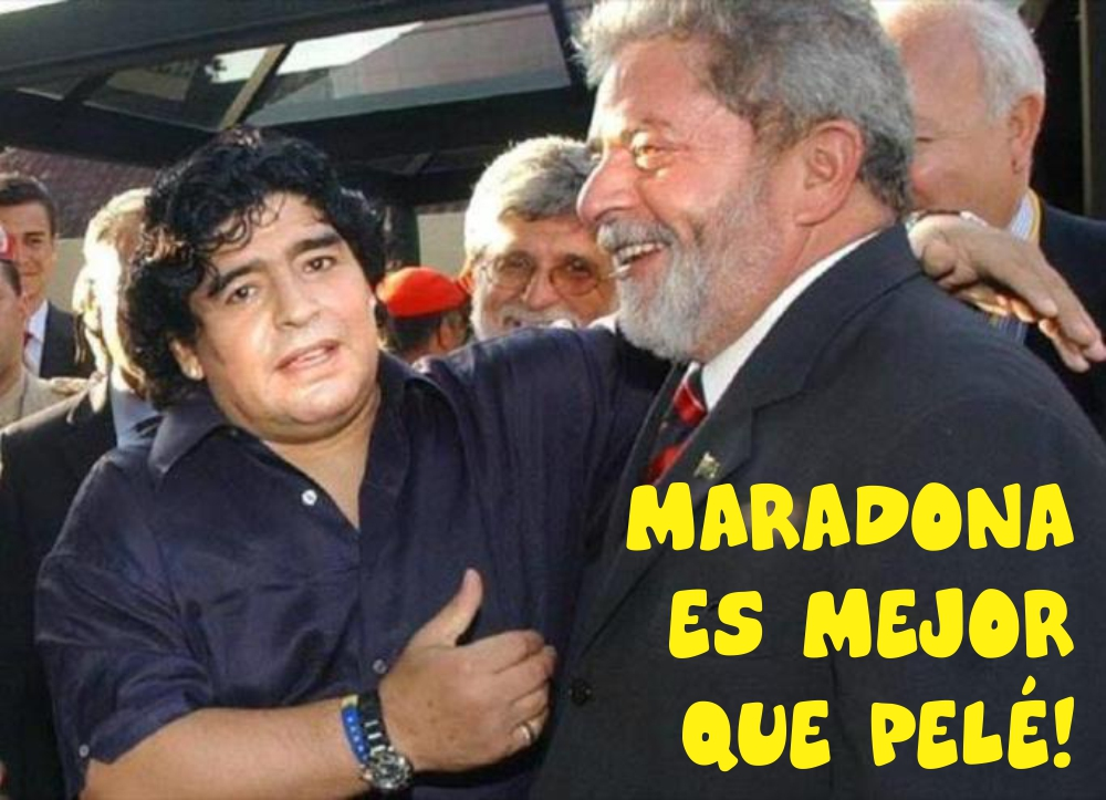 Maradona Lula 01b