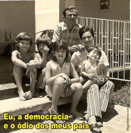 Eu, a democracia e o odio dos meus pais 01