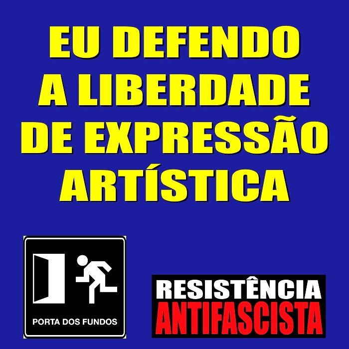 Resistencia Antifascista Porta dos Fundos 01